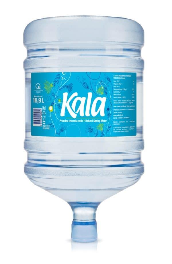 Bidon prirodne izvorske vode Kala 18,9 litre