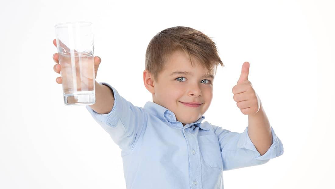 Važnost pitke vode za zdravlje djeteta