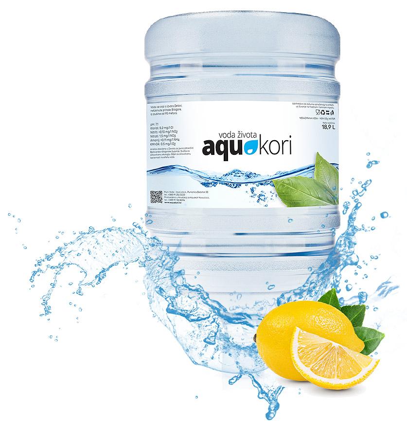 prirodna izvorska voda Aquakori